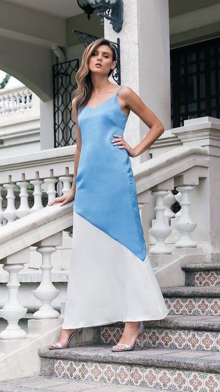 Slip Maxi Dress outdoor