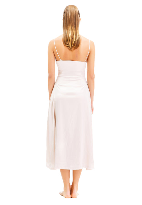 Zoey Sleeveless Long Dress backside