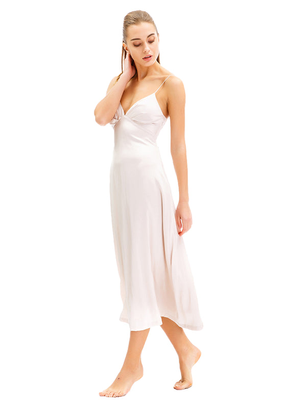 Zoey Sleeveless Long Dress leftside
