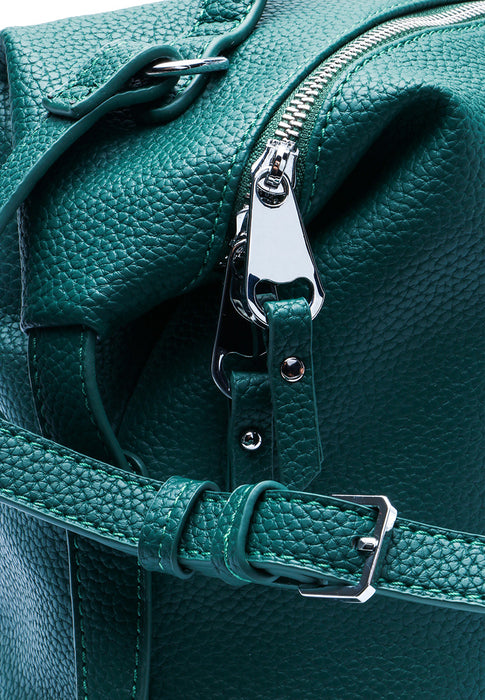 Emerald PU Bag closeup