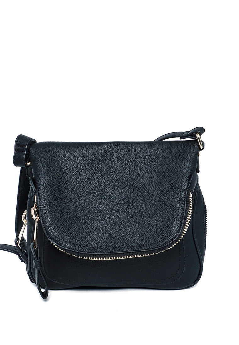Andie Saddle Bag (Black)