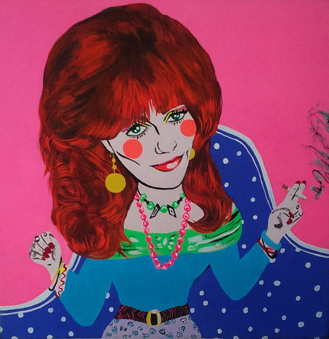 "Michelle Guintu, ""Peggy Bundy"""