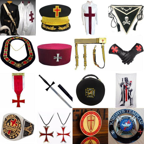 Knights Templar Regalia
