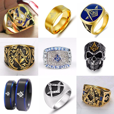 ALL Masonic Rings