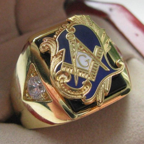 Copper Masonic Rings