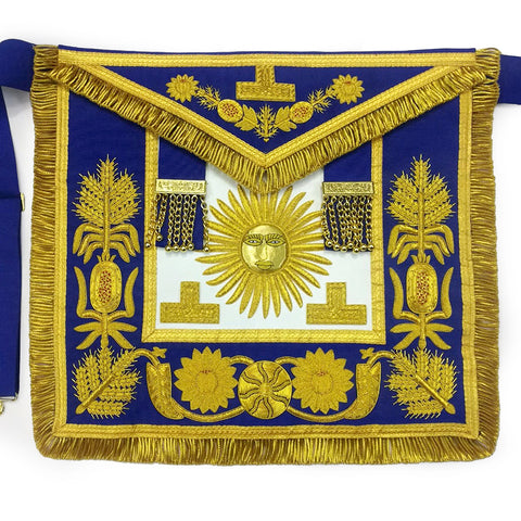 Grand Lodge Past Master Hand Embroidery