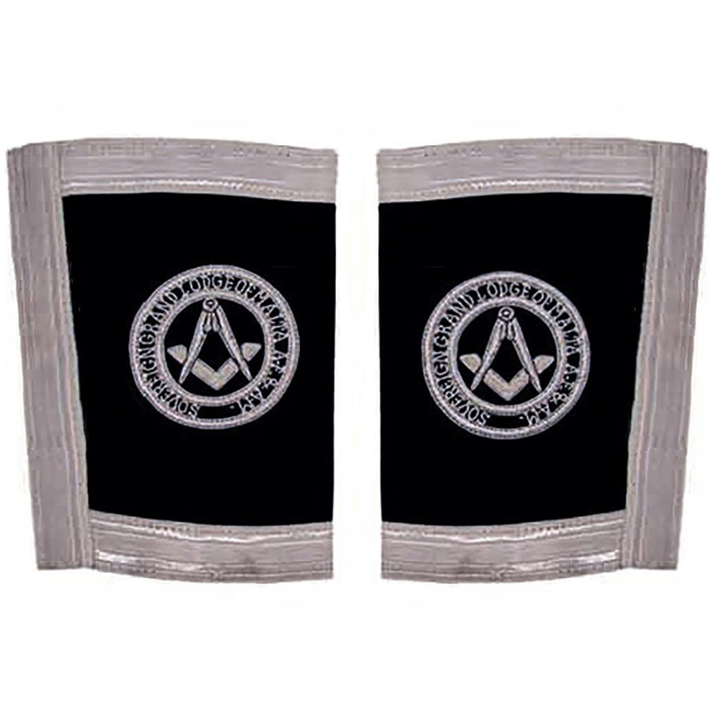 The Sovereign Grand Lodge Of Malta - Officer - SGLOM Gauntlets Cuffs - Bricks Masons