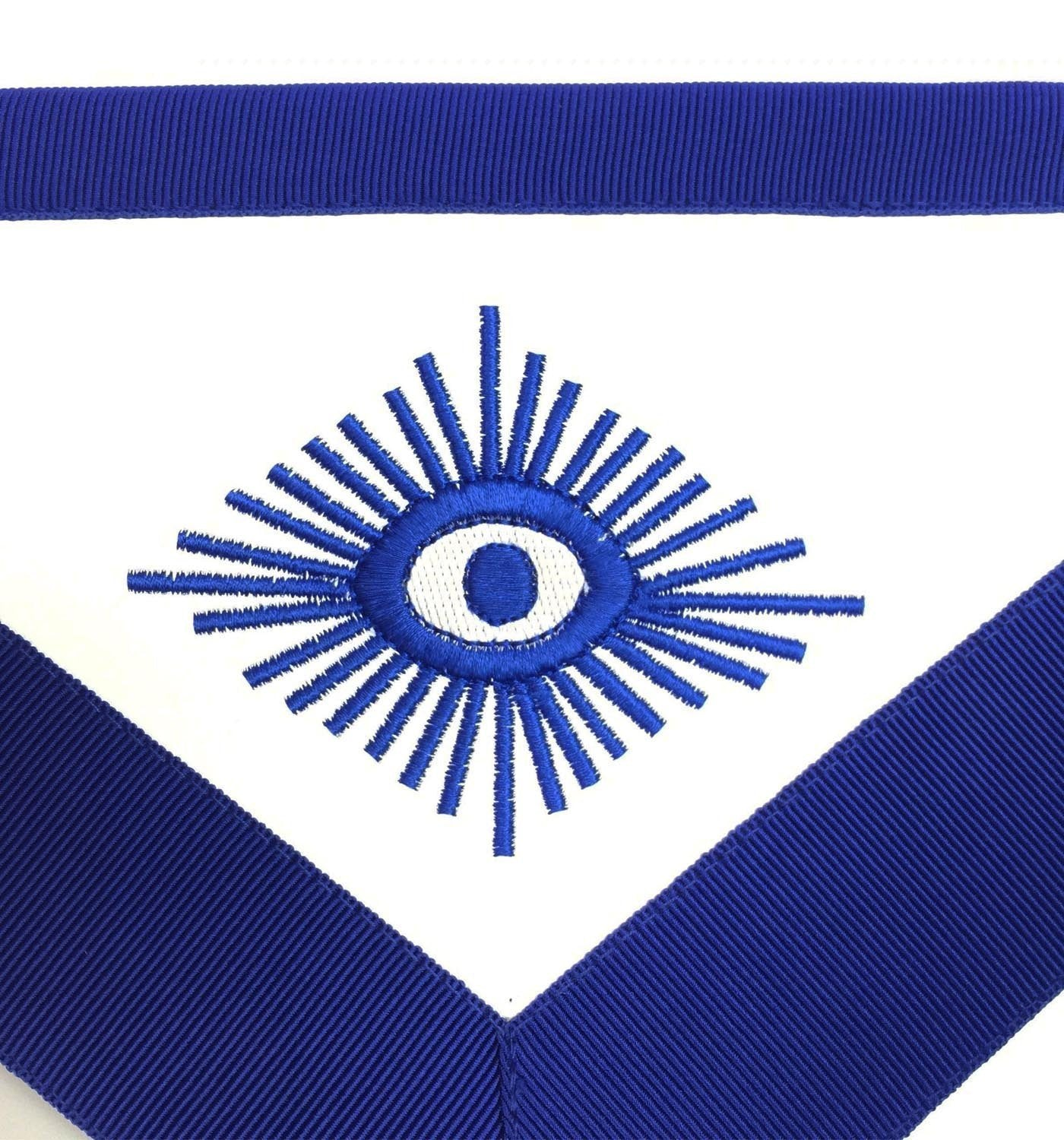 Masonic Blue Lodge Officers Aprons with Wreath - Bricks Masons
