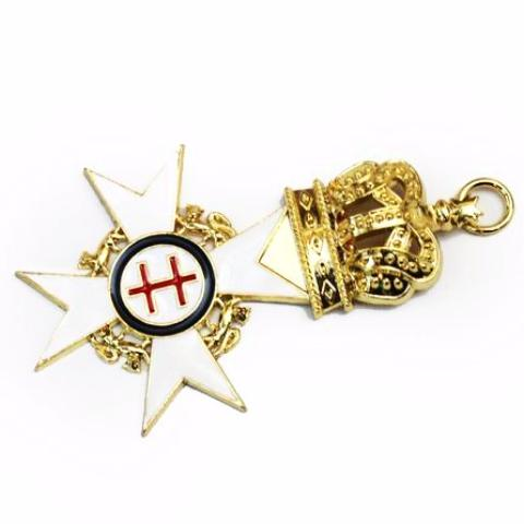 Knight Templar Past Preceptor Jewel - Bricks Masons