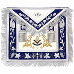 Masonic Grand Lodge Past Master Apron Gold & Silver Hand Embroidery Apron - Bricks Masons