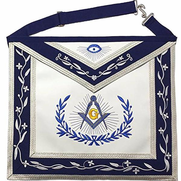 Masonic Master Mason Machine Embroidery Freemasons Apron - Bricks Masons
