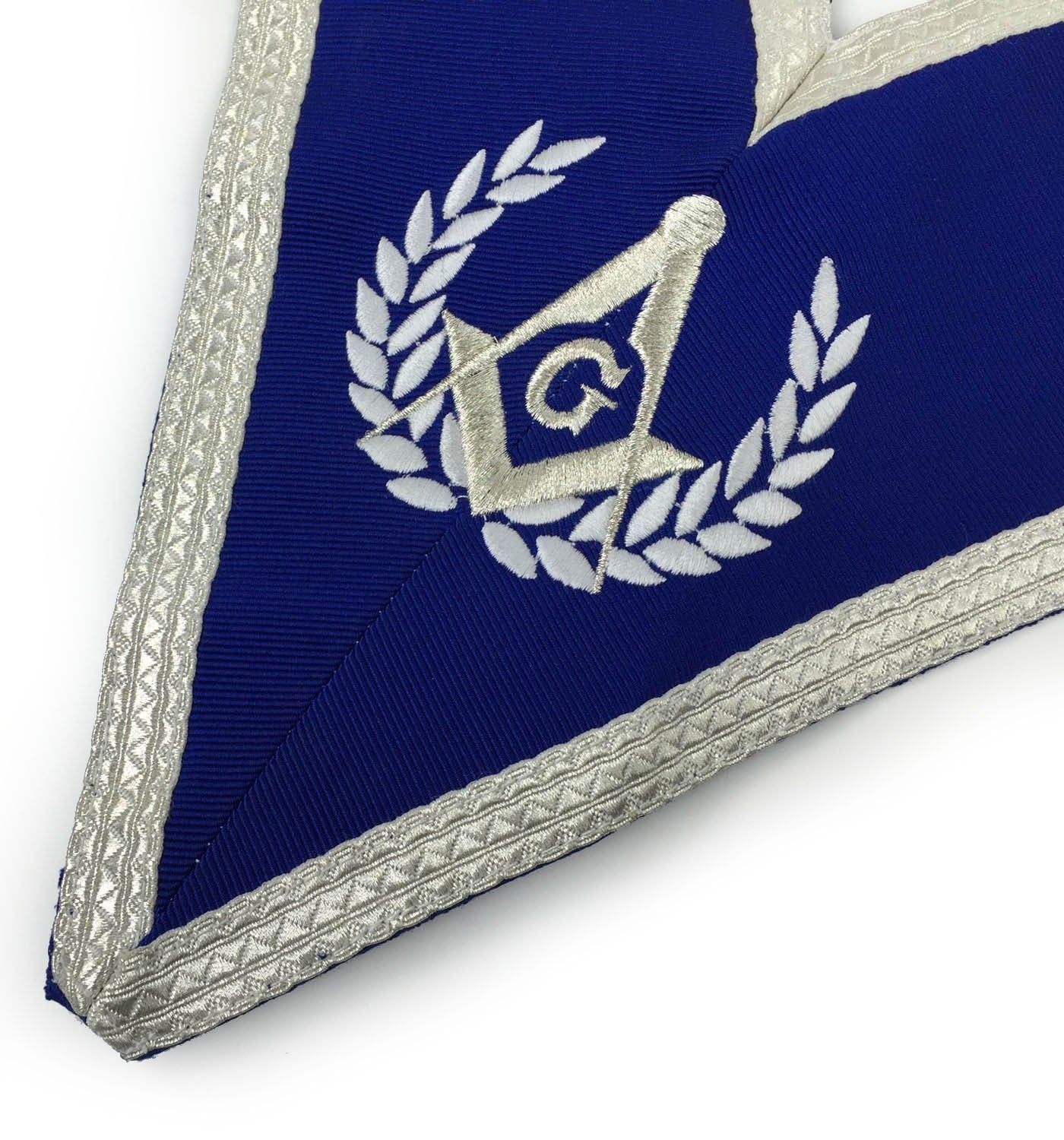 Blue Lodge Master Mason Apron Set Apron, Collar gauntlets (Cuffs) - Bricks Masons