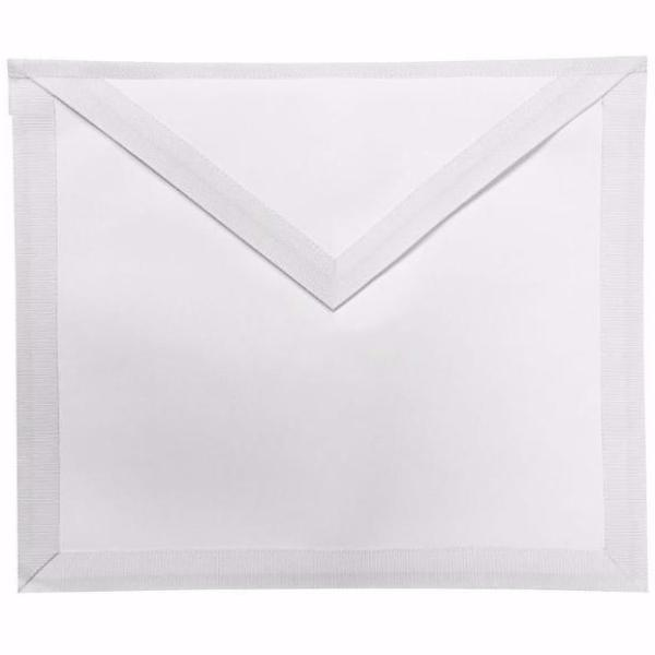 Masonic White Member Apron - Bricks Masons