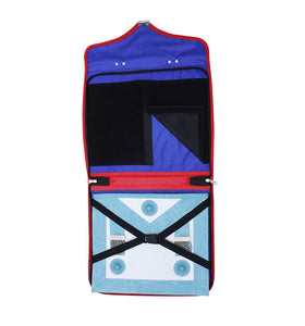 Masonic Royal Arch MM/WM and Provincial Full Dress Apron Cases Bullion Embroidery - Bricks Masons