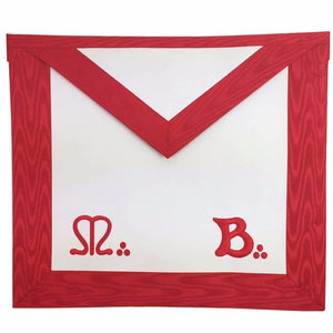 Masonic Master Mason MB Apron - Bricks Masons