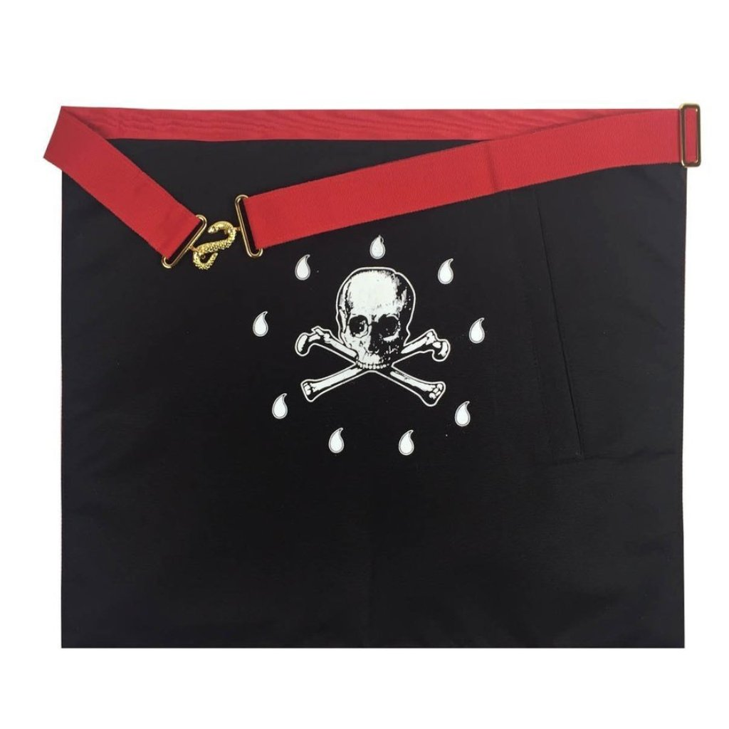 Masonic Scottish Rite Master Mason Apron AASR