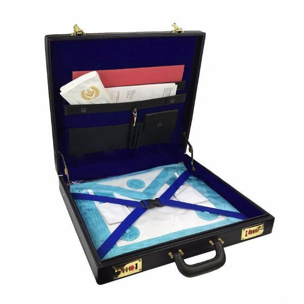 Masonic Regalia MM/WM Apron Case - Bricks Masons