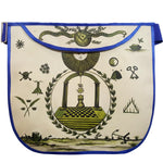 History Edition: Masonic Apron of Meriwether Lewis - Circa 1800 | Hand-painted Apron