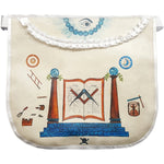 History Edition: Masonic Apron of Meriwether Lewis - 18th Century | Hand-painted Apron