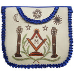 History Edition: Masonic Apron of Major William Christy - 1790 to 1837 | Hand-painted Apron