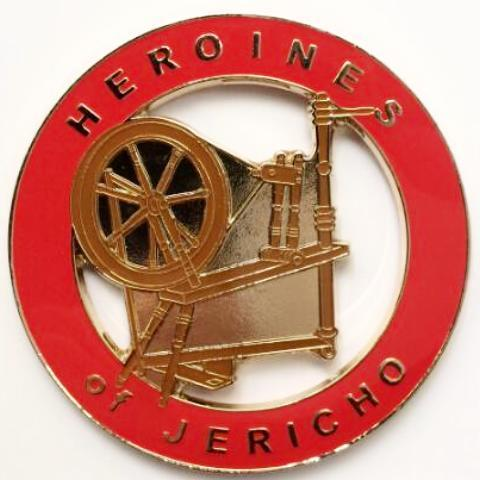 Heroines of Jericho Car Emblem - Bricks Masons