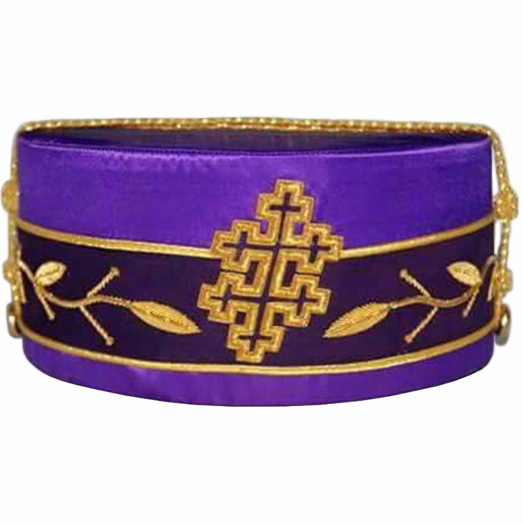 33rd Degree Scottish Rite Purple Cap - Bricks Masons