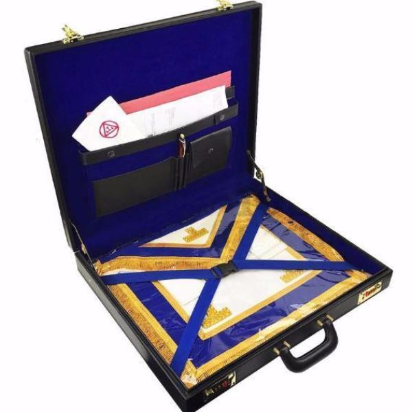 Masonic Regalia Grand Hard Briefcase - Bricks Masons