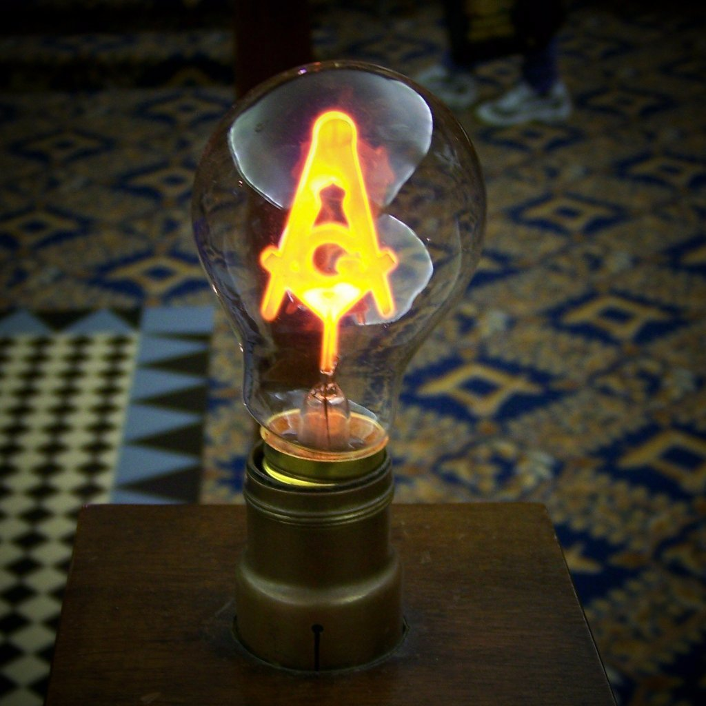 Pack of 2 Masonic Altar Light Bulbs - Bricks Masons