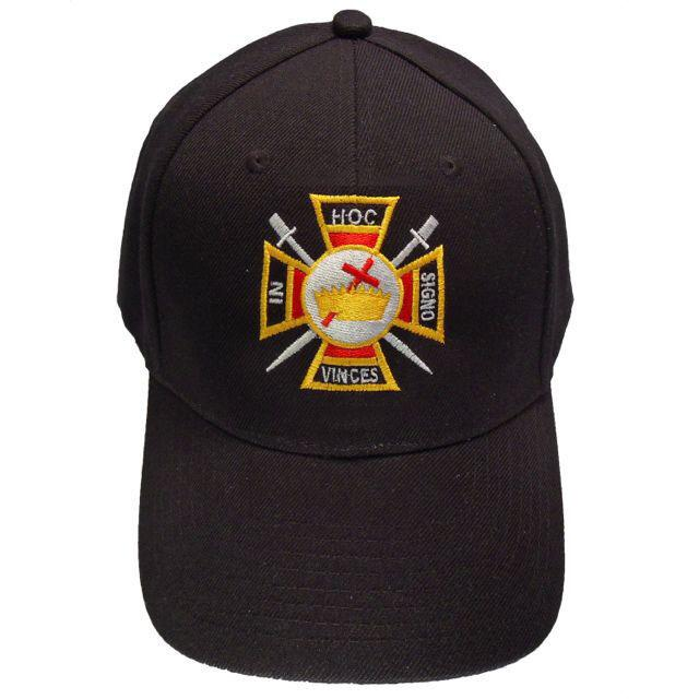 Knights Templar Masonic Baseball Cap - Bricks Masons