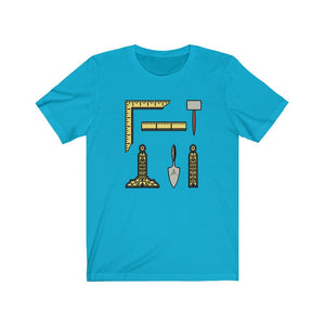 Masonic Tools T-Shirt - Bricks Masons