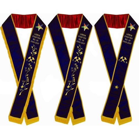 OES Sashes