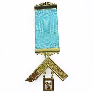 Masonic Craft Lodge Officer Past Master Breast Jewel - Bricks Masons