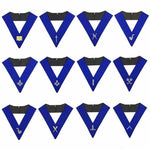 Lodge Officers Machine Embroidery Collars (1 unit) - Bricks Masons