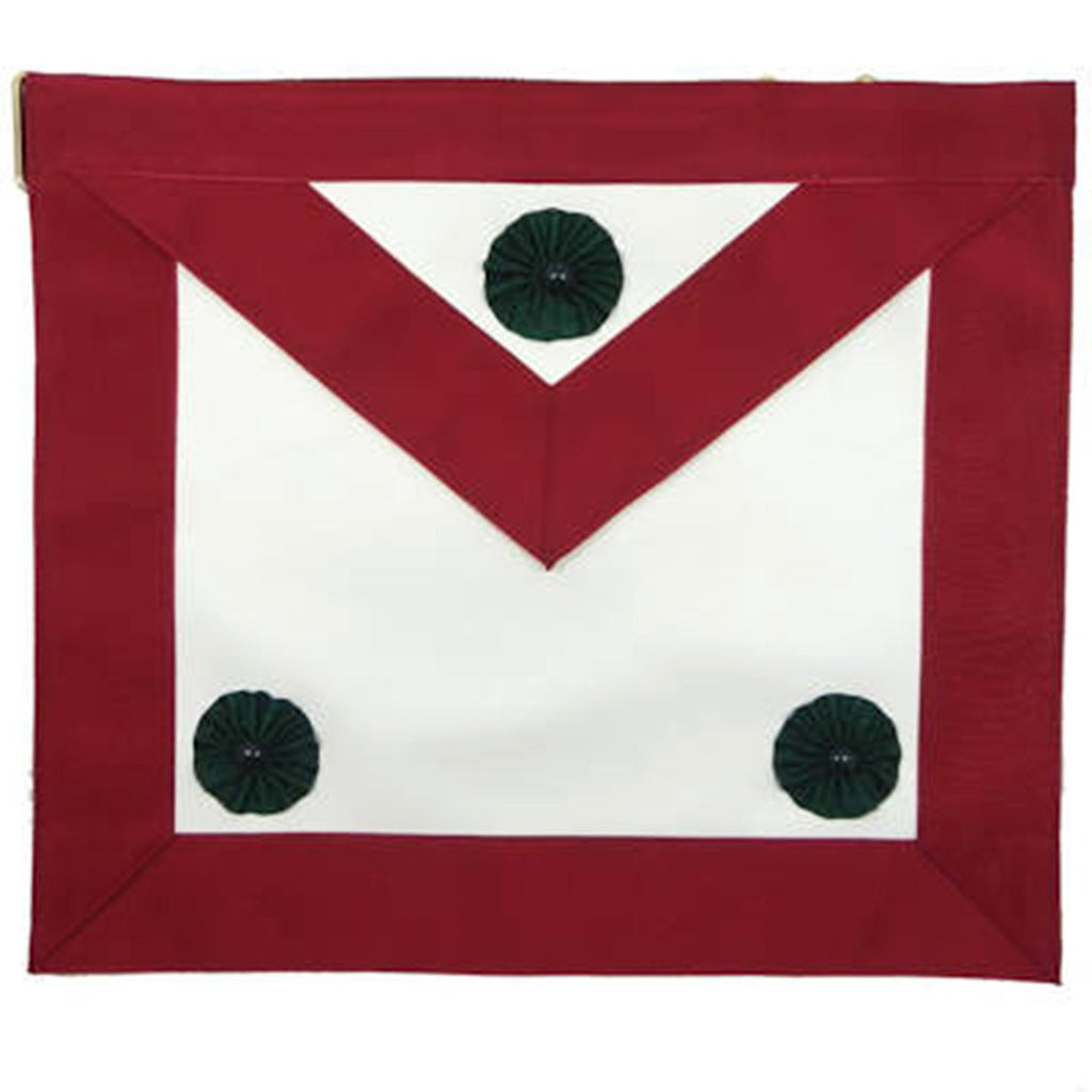 Knight Mason Apron Maroon - Bricks Masons