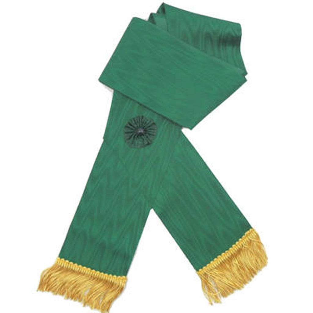 Knight Mason Sash Green - Bricks Masons