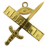 Masonic Gold Collar Jewel - Expert - Bricks Masons