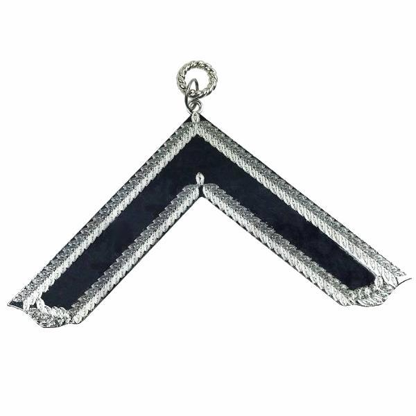 Masonic Craft Lodge Officer Collar Jewel Silver - Worshipful Master - Bricks Masons