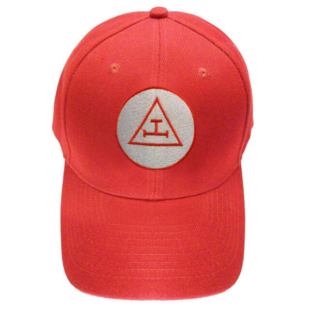 Royal Arch Triple Tau Masonic Baseball Cap - Bricks Masons