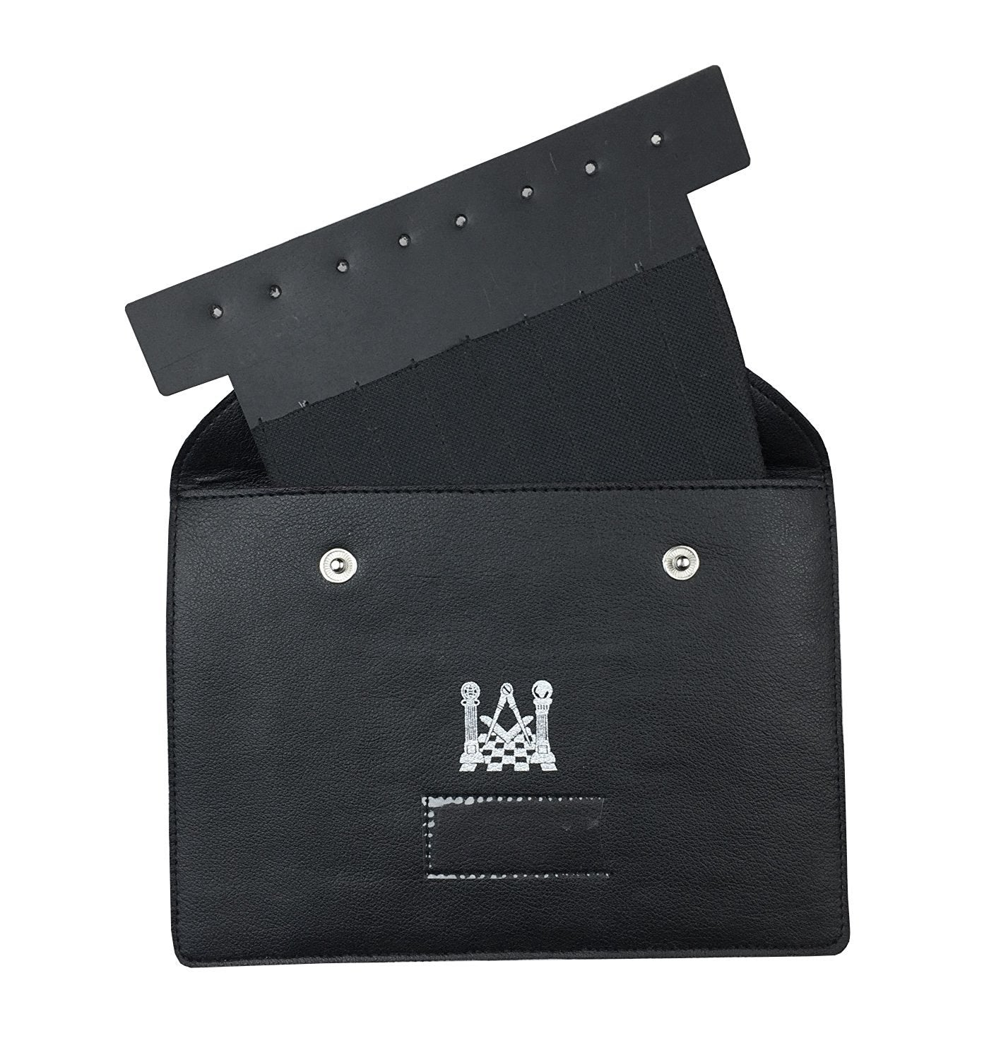 Masonic Regalia Pocket Jewel Holder / Wallet masonic Carry Case X Large - Bricks Masons