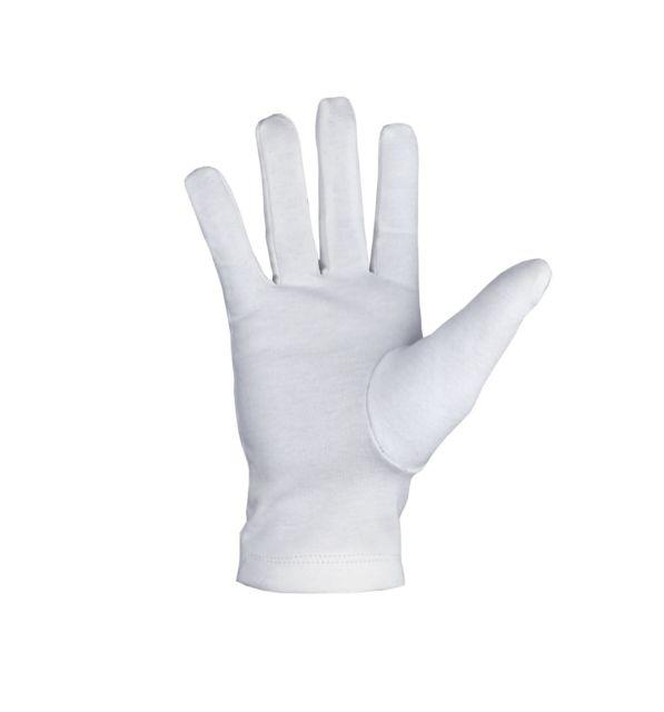 Masonic Regalia 100% Cotton White Gloves Plain - Bricks Masons