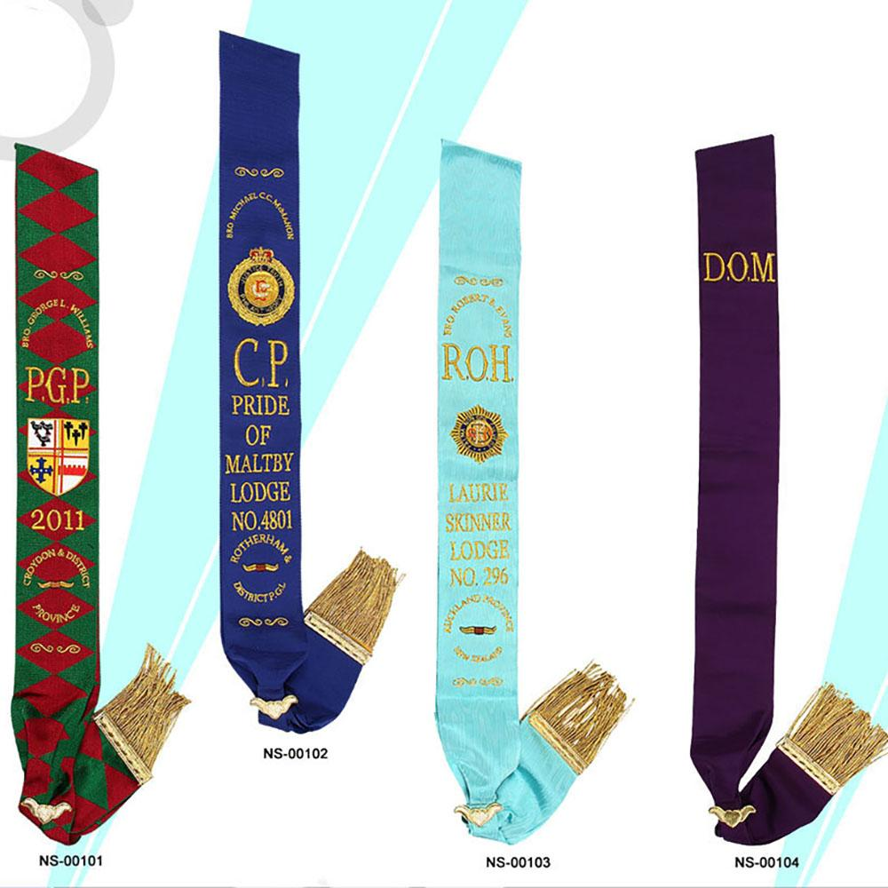 Royal Antediluvian Order of Buffaloes RAOB - Sashes - Bricks Masons