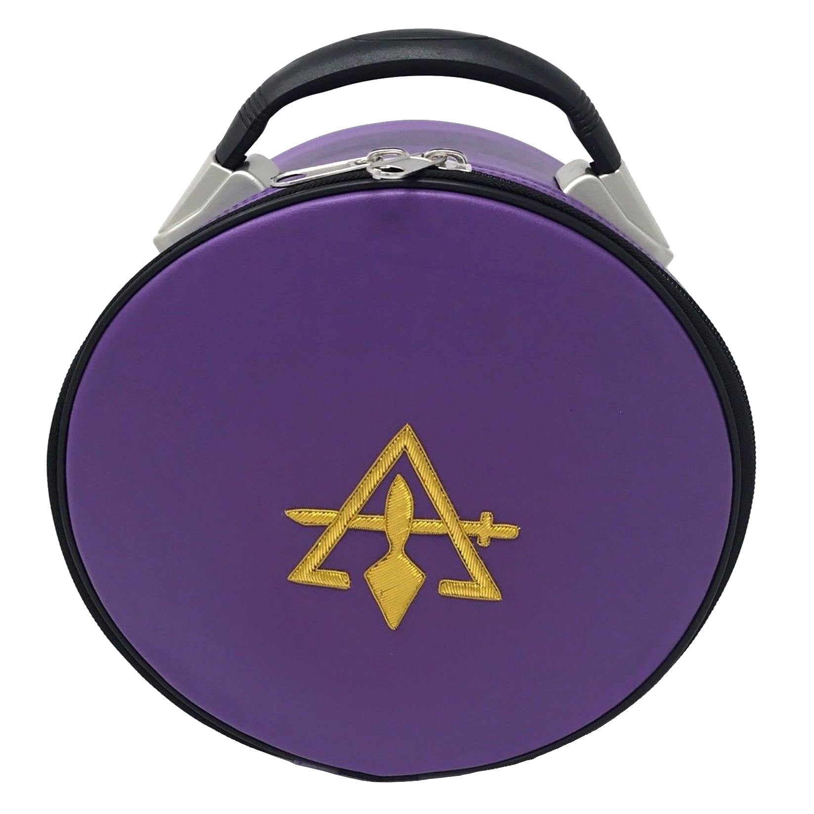 Cryptic Royal & Select Masonic Hat/Cap Case Purple - Bricks Masons