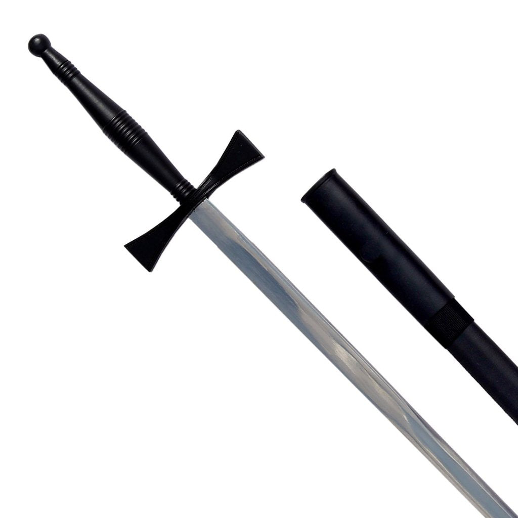 "Masonic Sword with Black Hilt and Black Scabbard 35 3/4"" + Free Case - Bricks Masons"