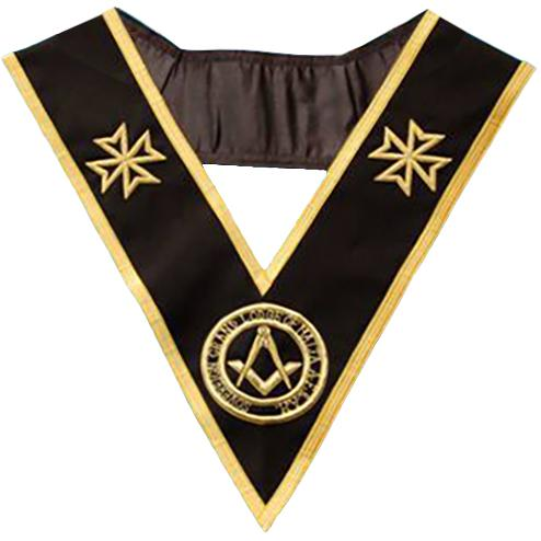 The Sovereign Grand Lodge Of Malta - Grand Officer - SGLOM Collar - Bricks Masons