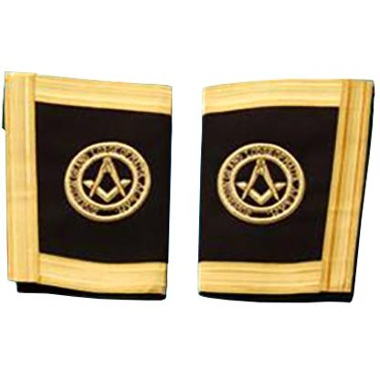 The Sovereign Grand Lodge Of Malta - Grand Officer - SGLOM Gauntlets Cuffs - Bricks Masons