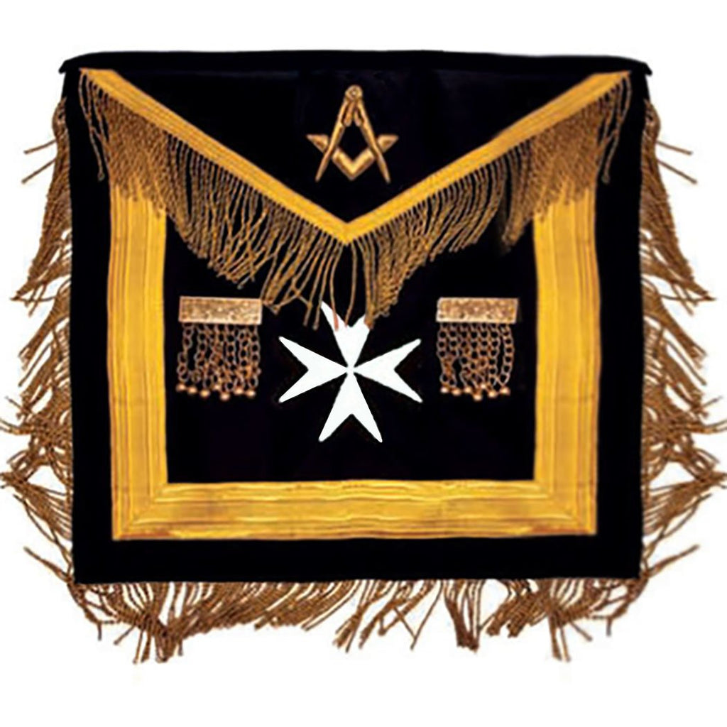 The Sovereign Grand Lodge Of Malta - Most Worshipful - SGLOM Apron - Bricks Masons