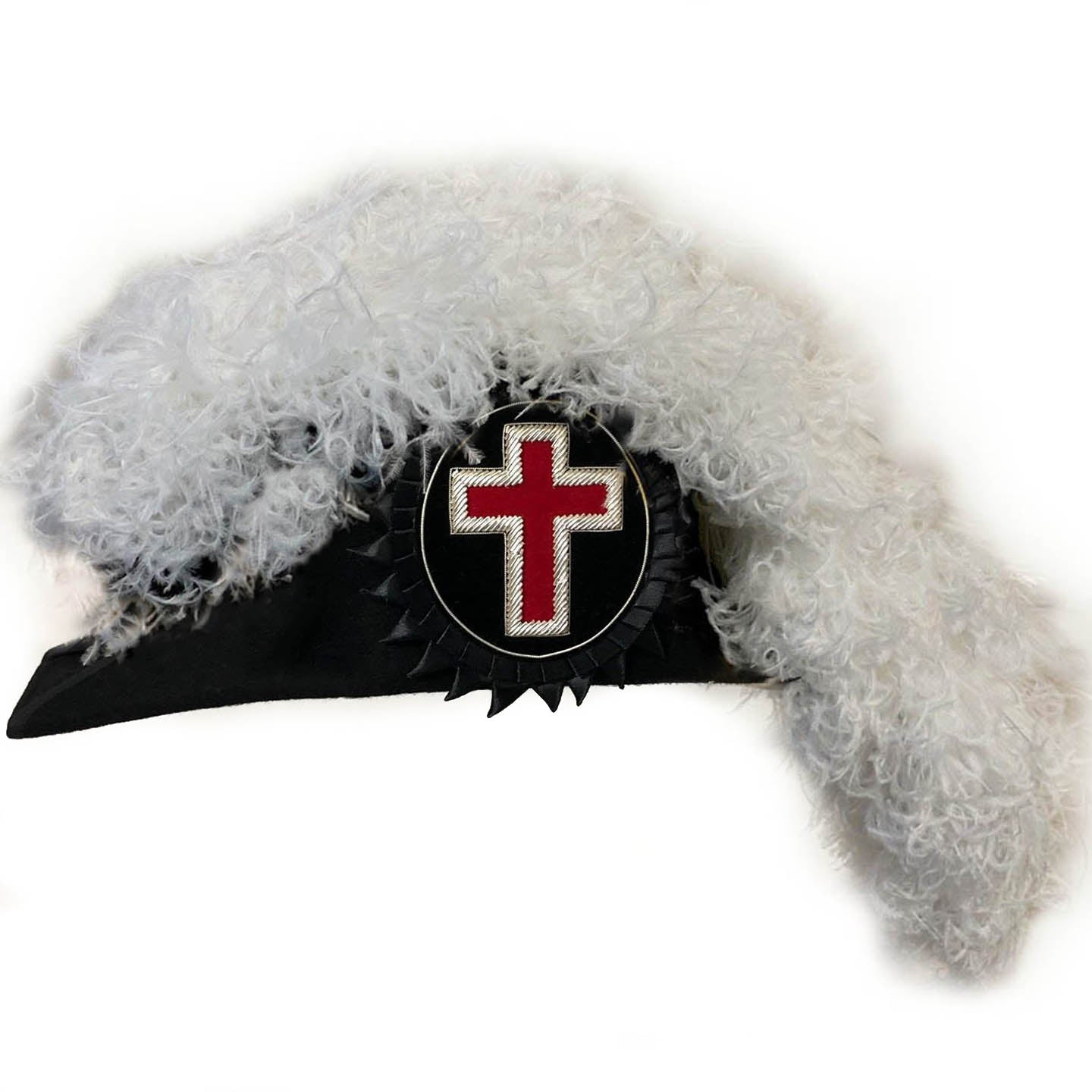 Knights Templar Line Officer Sir Knight Chapeau - Standard - Bricks Masons