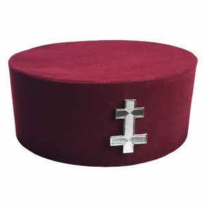 Masonic Knight Templar KT Perceptor Cap/Hat - Bricks Masons