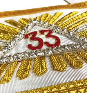 Masonic Regalia Rose Croix 33rd Degree Sash - Bricks Masons
