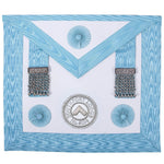 Master Masons Apron with Lodge Badge - Bricks Masons
